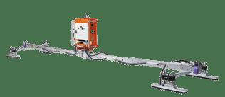 Der VIAVAC CB4 hebt Platten bis zu 800 kg bei einem schlanken Eigengewicht von 125 kg.