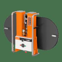 Starke Saugnäpfe, die mit Unterdruck arbeiten, heben bis zu 750 kg für horizontale und vertikale Montage.